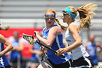 San Diego, CA 05/21/11 - Rachel Bokmeyer (Rancho Bernardo #11) and Kacey McKinnon (Torrey Pines #5) in action during the 2011 CIF San Diego Section Division 1 Championship game between Rancho Bernardo and Torrey Pines.