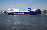DFDS Flandria Seaways ship Port of Rotterdam, Netherlands