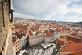 CZECH REPUBLIC, Prague, Views of the city from the top of the clock tower