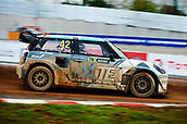 14th April 2018, Circuit de Barcelona-Catalunya, Barcelona, Spain; FIA World Rallycross Championship; Oliver Bennett of the Oliver Bennett Team in action during the morning World Rallycross free practice