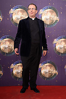 Rev. Richard Coles at the launch of the new series of &quot;Strictly Come Dancing&quot; at New Broadcasting House, London, UK. <br /> 28 August  2017<br /> Picture: Steve Vas/Featureflash/SilverHub 0208 004 5359 sales@silverhubmedia.com