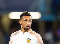 Valencia Francis Coquelin during the UEFA Champions League match between Chelsea and Valencia  at Stamford Bridge, London, England on 17 September 2019. Photo by Andrew Aleksiejczuk / PRiME Media Images.