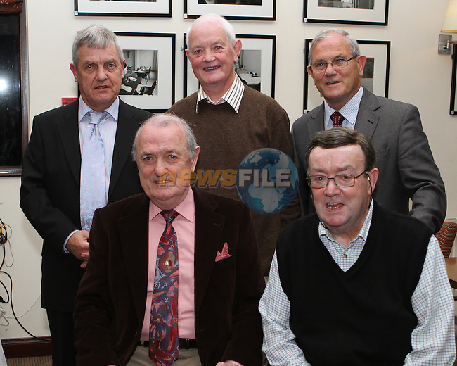 Augustinian Brother Joe Kirwan celebrates his golden Jubilee with his brothers, Denis, Brian, Charlie and Paul in the Glenside...Photo NEWSFILE/Jenny Matthews.