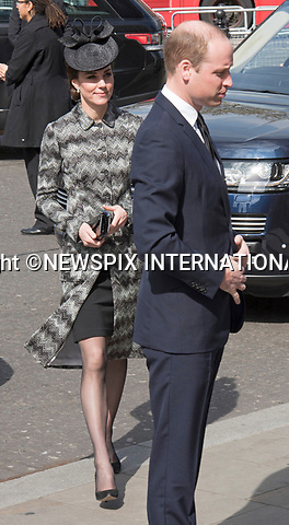 05.04.2017; London, UK: DUKE &amp; DUCHESS OF CAMBRIDGE AND PRINCE HARRY<br /> attend the Service of Hope at Westminster Abbey, for the victims of the terrorist attack at Westminster on 22nd March 2017.<br /> Mandatory Photo Credit: &copy;Francis Dias/NEWSPIX INTERNATIONAL<br /> <br /> IMMEDIATE CONFIRMATION OF USAGE REQUIRED:<br /> Newspix International, 31 Chinnery Hill, Bishop's Stortford, ENGLAND CM23 3PS<br /> Tel:+441279 324672  ; Fax: +441279656877<br /> Mobile:  07775681153<br /> e-mail: info@newspixinternational.co.uk<br /> Usage Implies Acceptance of OUr Terms &amp; Conditions<br /> Please refer to usage terms. All Fees Payable To Newspix International