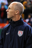 USMNT Head Coach Bob Bradley.   The USMNT tied Costa Rica 2-2 on the final game of the 2010  FIFA World Cup Qualifying round at RFK Stadium,Wednesday  October 14 , 2009.
