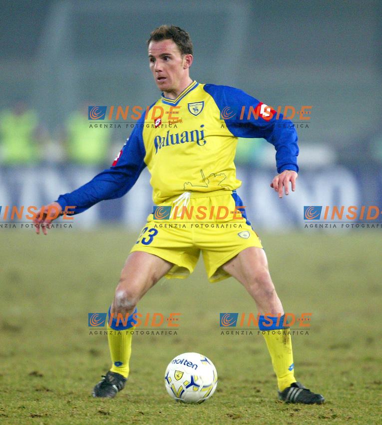 Verona 7/2/2004<br /> CHIEVO LECCE 2-3<br /> Salvatore Lanna (Chievo)<br /> Foto Andrea Staccioli Insidefoto