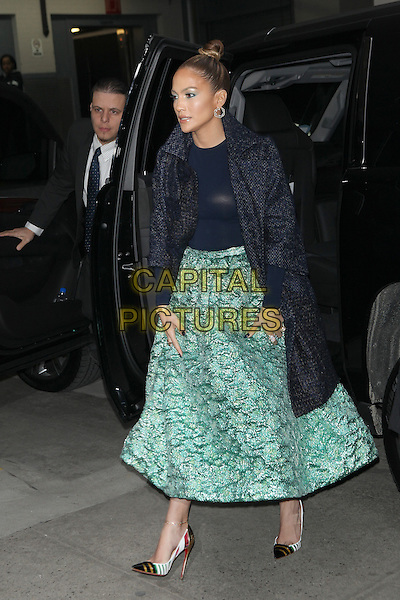 NEW YORK, NY - JANUARY 21: Jennifer Lopez seen arriving to an engagement at AOL in New York City on January 21, 2015. <br /> CAP/MPI/MPI99<br /> &copy;MPI99/MPI/Capital Pictures