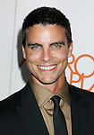 "LOS ANGELES, CA. - August 22: Colin Egglesfield arrives at the ""Melrose Place"" Los Angeles Premiere Party on August 22, 2009 in Los Angeles, California."