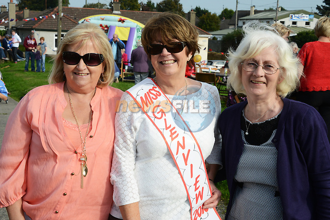 """Miss Glenview"" Betty Collins (nee O'Brien) with runners up Mary Smith (nee Finglas) and Joan Smith (nee McCloskey) at the Glenview 80th anniversary party. Photo: Andy Spearman."