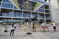 Houston, TX - Saturday June 11, 2016:  during a Copa America Centenario Group D match between Colombia (COL) vs Costa Rica (CRC) at NRG Stadium.