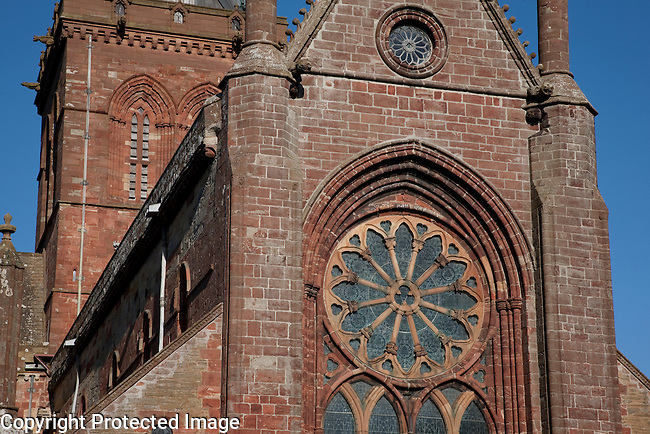 St Magnus Cathedral, Kirkwall in Orkney Islands, Scotland