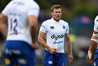 Will Chudley of Bath Rugby looks on during a break in play. Pre-season friendly match, between Edinburgh Rugby and Bath Rugby on August 17, 2018 at Meggetland Sports Complex in Edinburgh, Scotland. Photo by: Patrick Khachfe / Onside Images