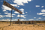 An gas station ruin on the Navajo Reservation