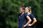CARY, NC - JUNE 29: Joanna Boyles. The North Carolina Courage held a training session on June 29, 2017, at WakeMed Soccer Park Field 6 in Cary, NC.