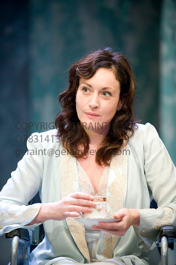 Broken Glass by Arthur Miller,directed by Iqbal Khan .With Lucy Cohu as Sylvia Gellburg Opens at The  Tricycle Theatre  on 6/10/10 Credit Geraint Lewis