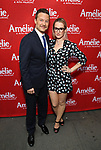 Will Chase and Ingrid Michaelson attend the Broadway Opening Night performance of 'Amelie' at the Walter Kerr Theatre on April 3, 2017 in New York City