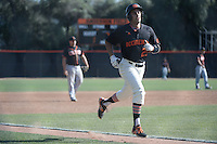 (Photo by John Valenzuela, Freelance)<br /> <br /> #29 Jake Palumbo. The Occidental College baseball team defeats Caltech to claim the SCIAC Championships on Sunday, May 1, 2016 at Oxy's Anderson Field.<br /> <br /> (Photo by John Valenzuela, Freelance)