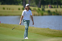 Tommy Fleetwood (ENG) approaches the green on 17 during Round 2 of the Zurich Classic of New Orl, TPC Louisiana, Avondale, Louisiana, USA. 4/27/2018.<br /> Picture: Golffile | Ken Murray<br /> <br /> <br /> All photo usage must carry mandatory copyright credit (&copy; Golffile | Ken Murray)