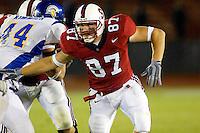 Matt Traverso during Stanford's 63-26 win over San Jose State on September 14, 2002 at Stanford Stadium.<br />Photo credit mandatory: Gonzalesphoto.com