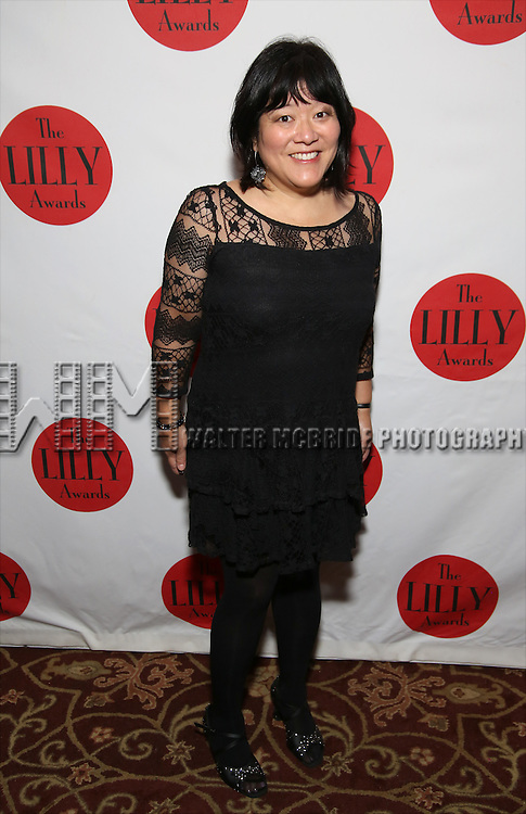 Ann Harada attends The Lilly Awards Broadway Cabaret at the Cutting Room on October 17, 2016 in New York City.