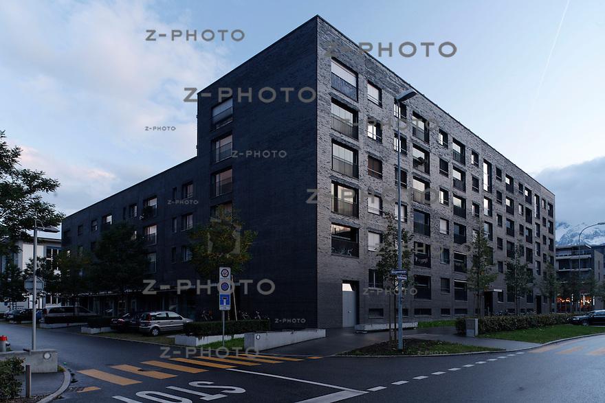 Architektur der Tribschenstadt in Luzern am 5. Oktober  2008..Copyright © Zvonimir Pisonic.