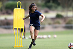 CARY, NC - AUGUST 24: Madeline Gravante. The North Carolina Courage held a training session on August 24, 2017, at WakeMed Soccer Park Field 7 in Cary, NC.