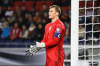 Manuel Neuer (Deutschland Germany)- 11.10.2016: Deutschland vs. Nordirland, HDI Arena Hannover, WM-Qualifikation Spiel 3