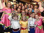 Children who took part in the East Meath production of Cinderella in the Droichead Arts Centre. Photo:Colin Bell/pressphotos.ie