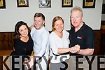 Kate O'Leary, Pat O'Neill, Breda Joy and Mike O'Leary in rehearsals for the Killarney Strictly Come Dancing in the Laurels on Monday night