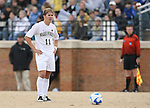 02 December 2007: Wake Forest's Jamie Franks. The Wake Forest University Demon Deacons defeated the West Virginia University Mountaineers 3-1 at W. Dennie Spry Soccer Stadium in Winston-Salem, North Carolina in a Third Round NCAA Division I Mens Soccer Tournament game.