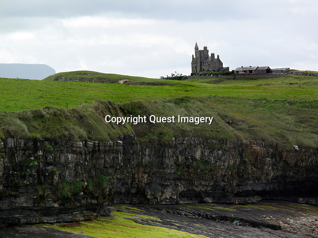Classiebawn Castle on Mullaghmore Head at Donegal Bay in County Sligo, Ireland. <br />
