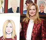 Laura Linney attends the portrait unveilings of Laura Linney and Cynthia Nixon starring on Broadway in the Manhattan Theatre Club's THE LITTLE FOXES, at Sardi's on June 29, 2017 in New York City.