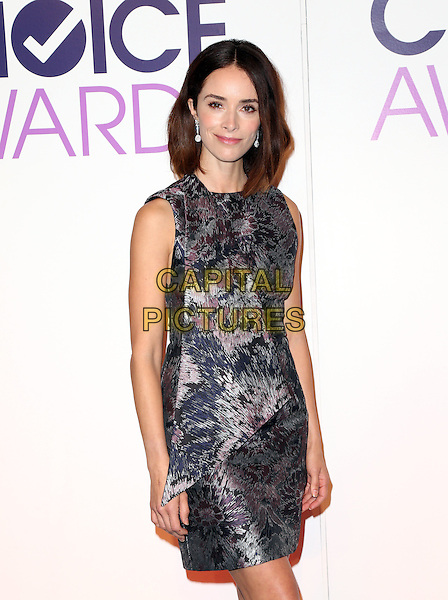 Beverly Hills, CA - November 03 Abigail Spencer Attending People's Choice Awards 2016 - Nominations Press Conference At The Paley Center for Media On November 03, 2015. <br /> CAP/MPI/UPAFS<br /> &copy;FSUPA/MPI/Capital Pictures