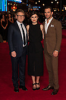 Kenneth Branagh, Keira Knightley and Chris Pine arriving for the UK Premiere of Jack Ryan, at Vue Leicester Square, London. 20/01/2014 Picture by: Dave Norton/ Featureflash