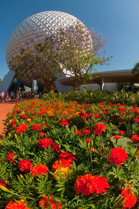 Epcot Flower U0026 Garden Festival, Epcot, Walt Disney World, Orlando, Florida  USA