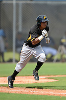 Pittsburgh Pirates outfielder Victor Hernandez (31) during an Instructional League game against the Tampa Bay Rays on September 27, 2014 at the Charlotte Sports Park in Port Charlotte, Florida.  (Mike Janes/Four Seam Images)
