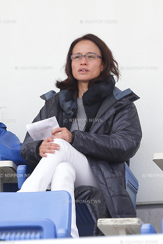Asako Takakura, April 30, 2016 - Football / Soccer : Head Coach Asako Takakura of Women's Japan National Team looks on prior to the Nadeshiko League match between Urawa Reds Ladies and INAC Kobe Leonessa at Urawa Komaba Stadium in Saitama, Japan (Photo by AFLO)