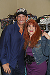 Guiding Light Sean McDermott wearing Jane Elissa hat poses with the designer Jane Elissa which donates to Leukemia/Lymphoma at Romantic Times Booklovers Annual Convention 2011 - The Book Industry Event of the Year - April 8, 2011 at the Westin Bonaventure, Los Angeles, California for readers, authors, booksellers, publishers, editors, agents and tomorrow's novelists - the aspiring writers. (Photo by Sue Coflin/Max Photos)