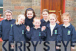 Pupils from Lyrecompane NS who held an Irish Dancing morning in the school on Wednesday as part of their Seachtain na Gealige celebrations front row l-r: Eilish O'Regan, Eoin Buckley, Karen Moloney. Back row: Emma Lyons, Aoife Healy, Lorraine Nash and Aisling Keane    Copyright Kerry's Eye 2008