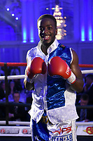 Gelassius Taaru defeats Neil Rawlinson during a Boxing Show at The Devere Grand Connaught Rooms on 9th May 2019