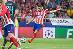 Atletico de Madrid's Koke Resurreccion during UEFA Champions League match between Atletico de Madrid and Chelsea at Wanda Metropolitano in Madrid, Spain September 27, 2017. (ALTERPHOTOS/Borja B.Hojas)