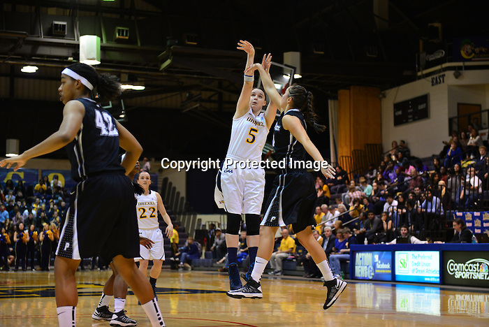 PHILADELPHIA - The Drexel women's basketball team fought back from a 17-point deficit in the first  half to overtake the visiting Providence Friars and win a 62-52 game in their home opener in front of 1,003 fans at the Daskalakis Athletic Center on Friday night. Freshman guard Alexis Smith poured in 17 points, 13 of which came in the second half, while senior Fiona Flanagan put together her first-career double-double with 11 points and 13 rebounds to lead Drexel.<br /> <br /> The Dragons (2-1) trailed 26-9 in the first half before turning on the jets. By halftime, the lead was down to eight, and the Dragons retook the lead just under eight minutes into the second half when Smith knocked down a jumper to make it 37-35.<br /> <br /> Sarah Curran chipped in with 12 points and six rebounds, her first double-digit scoring output of her career. Carrie Alexander had eight, while Meghan Creighton had seven points, five rebounds and four assists. Abby Redick had five points, three rebounds and five assists without a turnover. For Flanagan, who had earned a spot on the Glass City Tournament All-Tournament Team with showings of 19 and 17 points last weekend against Toledo and Villanova, her 11-point outing marked the first time in her career that she reached double figures in three-straight games.<br /> <br /> Alexis Harris had a team-best 14 points and 11 rebounds for Providence (2-1), which had come into the game scoring no less than 104 points in each of its first two contests. The Friars were held to exactly half that on Friday night.<br /> <br /> The game started slow for the Dragons, who hit just three of their first 20 shots as Providence built its 26-9 lead. When Aliyah Miller's layup built that lead with 8:11 to go, the Dragons began to turn up the defensive pressure, methodically going on a 15-3 run over the next 7:12 that sliced the deficit to just five points. Creighton had five points during the run, with Flanagan and Smith each adding four and Alexander chipping