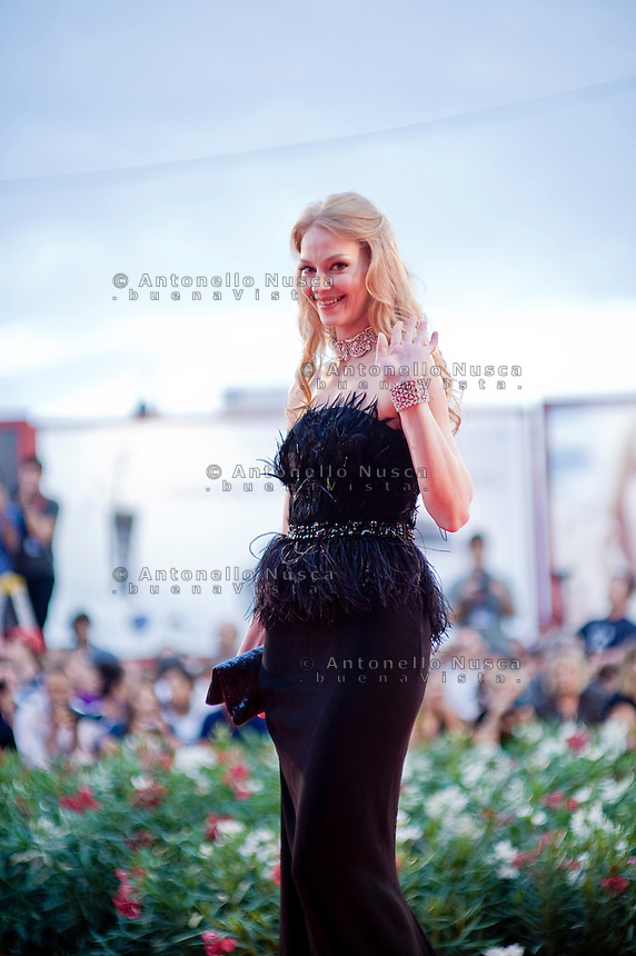 Actress Svetlana Khodchenkova attends 'Tinker, Tailor, Soldier, Spy' Premiere at the 68th Venice Film Festival