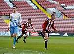 Jordan Hallam celebrates scoring the winning goal during the Professional Development League play-off final match at Bramall Lane Stadium, Sheffield. Picture date: May 10th 2017. Pic credit should read: Simon Bellis/Sportimage
