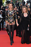 "CANNES, FRANCE. May 16, 2019: Eva Herzigova & Caroline Gruosi Scheufele at the gala premiere for ""Rocketman"" at the Festival de Cannes.<br /> Picture: Paul Smith / Featureflash"