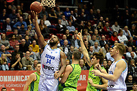 GRONINGEN - Basketbal, Donar - Dinamo Sassari, Martiniplaza, Europe Cup, seizoen 2018-2019, 12-12-2018,Donar speler Lance Jeter