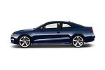 Car Driver side profile view of a 2017 Audi S5-Coupe 3.0T-quattro-manual 2 Door Coupe Side View