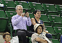 Javier Aguirre at WTA Toray PPO Tennis match