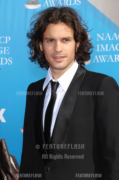 """""""Heroes"""" star Santiago Cabrera at the 38th NAACP Image Awards at the Shrine Auditorium, Los Angeles. .March 2, 2007  Los Angeles, CA.Picture: Paul Smith / Featureflash"""