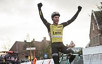 Jos Van Emden (NED/Team Lotto NL-Jumbo) victory <br /> <br /> 1st Dwars door West-Vlaanderen 2017 (1.1)